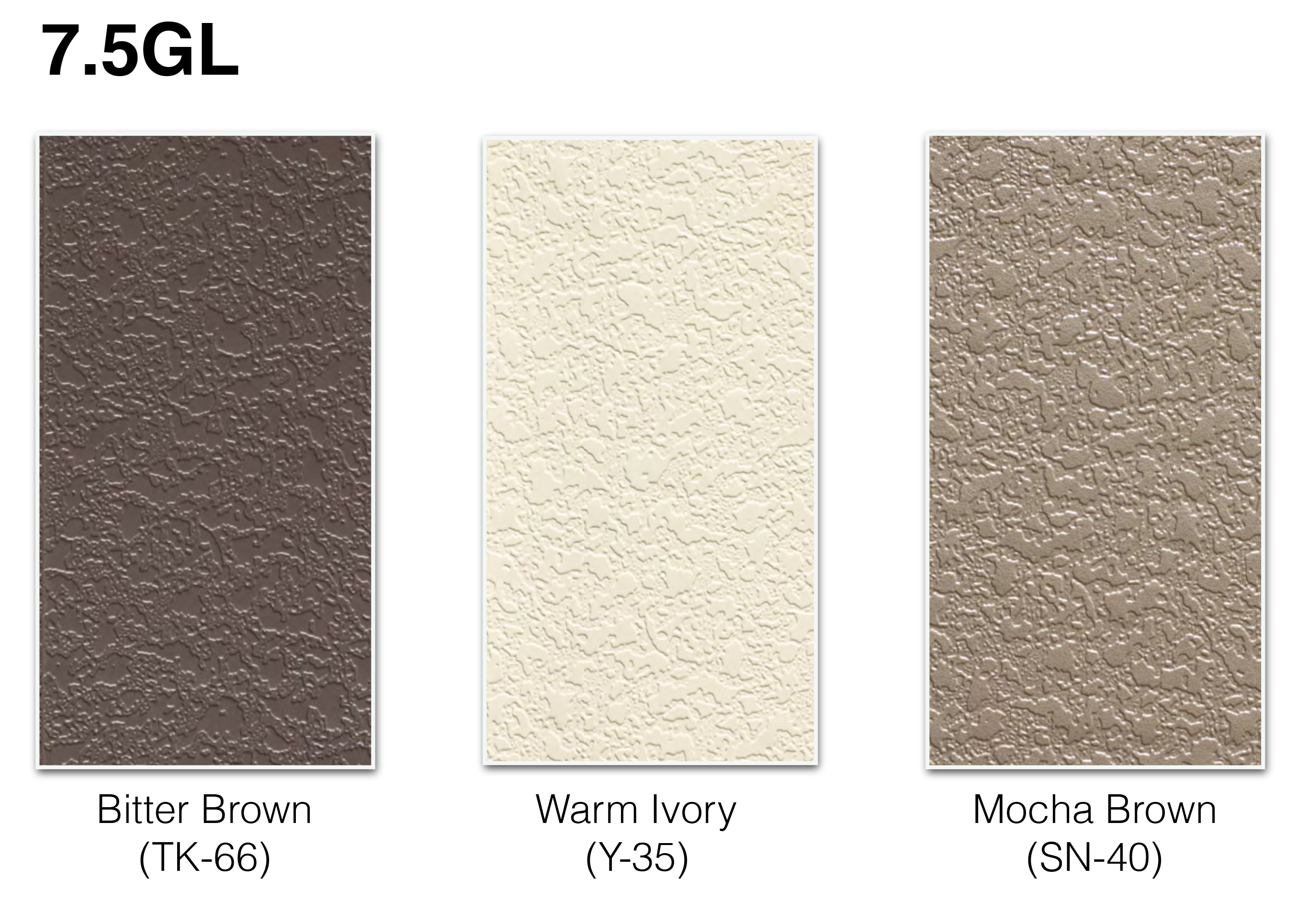 wide range of cladding options to choose from